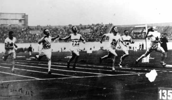 percy williams 200 metre gold medal 1928