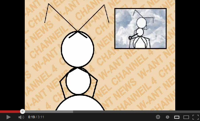 global warming scam hoax hysteria caused by ants