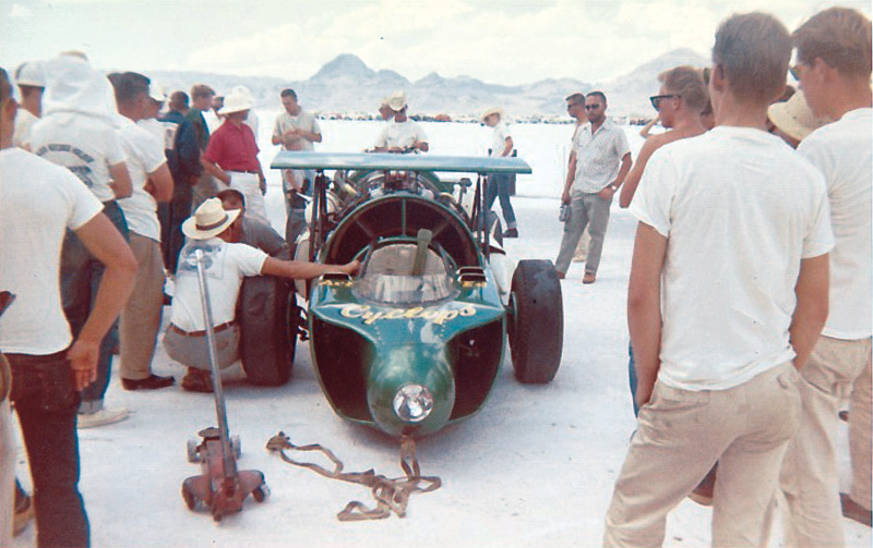 speed week 1962 bonneville salt flats art arfons cyclops