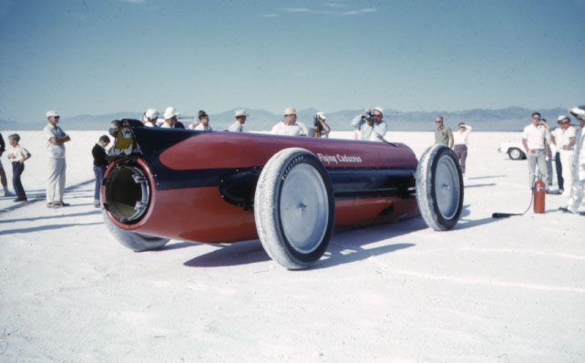 land speed record bonneville caduceus