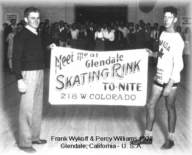 frank wykoff fake percy williams 1928