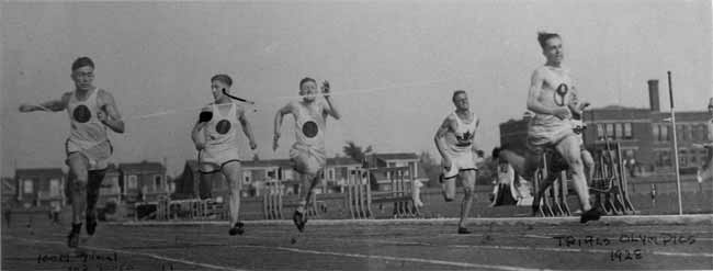 percy williams olympic trials 1928