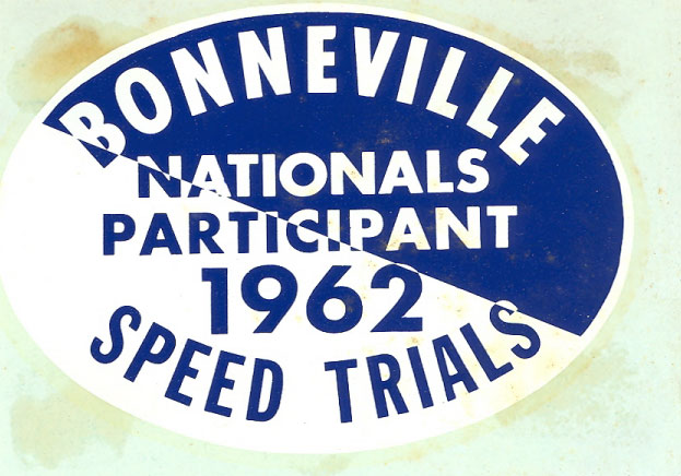 Bonneville Speed Week pass 1962